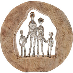 Deco Object  Family In Log