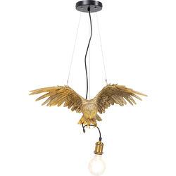 Pendant Lamp Animal Owl Gold