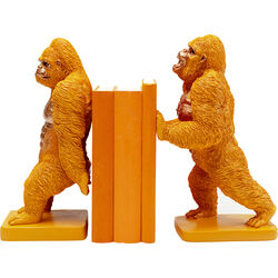 Bookend Gorilla Orange (2/Set)
