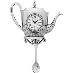 Wall Clock Tea Pot