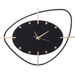 Wall Clock Viva Black