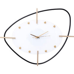 Wall Clock Viva White