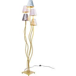 Floor Lamp Flexible Velvet Brass Cinque