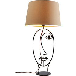 Table Lamp Face Wire Nature