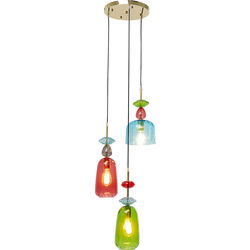 Pendant Lamp Goblet Colore Spiral