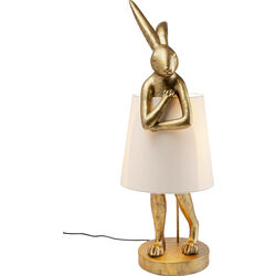 Table Lamp Animal Rabbit Gold 88cm