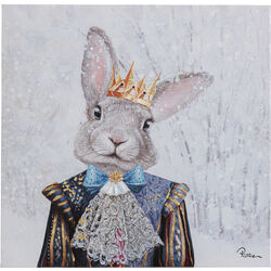 Picture Touched King of Rabbit 50x50