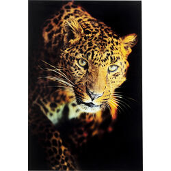Picture Glass Leopard Shaka 120x80