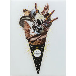 Picture Glass Rich Ice Cream 60x80