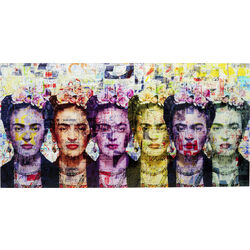 Picture Glass Frida Love 160x80