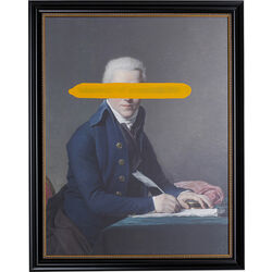 Oil Painting Frame Undercover Writer 100x80