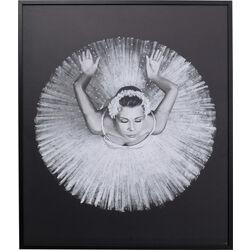 Picture Frame Dancing Ballerina 100x120cm