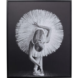 Framed Picture Passion of Ballet 120x100cm