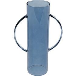 Vase Cylinder Blue