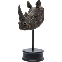 Oggetto decorativo Rhino Head Rivets Pearls 69
