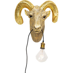 Wall Lamp Animal Aries Head