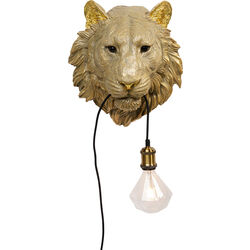 Wall Lamp Animal Tiger Head