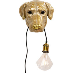 Wall Lamp Animal Dog Head