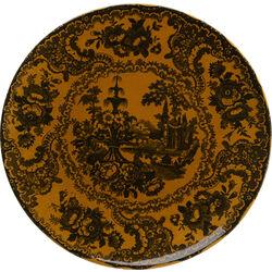 Plate Sakura Yellow Ø27