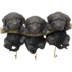 Wall Hooks Three Mini Dogs