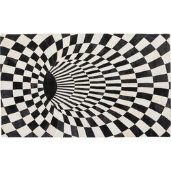 Carpet 3D Creative Black White 170x240cm