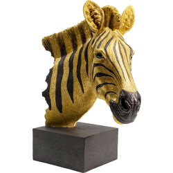 Deco Object Zebra Gold