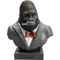 Deco Object Smoking Gorilla