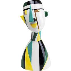 Deco Vase Happy Face 43cm