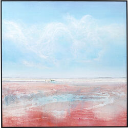 Framed Picture Red Sea 100x100cm