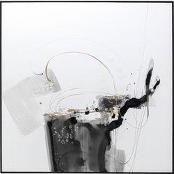 Framed Picture Splotch 100x100cm