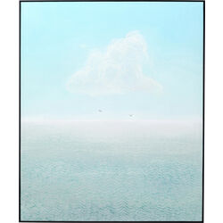 Framed Picture Ocean View 100x120cm