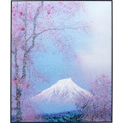 Framed Picture Fuji 100x120cm