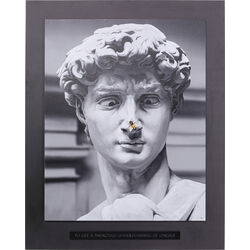 Framed Picture Statue 100x125cm