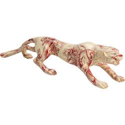 Deco Figurine Sneaking Leopard