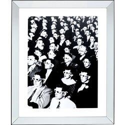 Framed Picture Audience 85x105cm