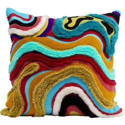 Cushion Waves Multi 45x45cm