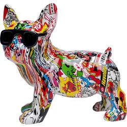 Deco Figurine Comic Dog Glasses 25cm