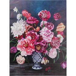 Canvas Picture Wild Flowers 90x120cm