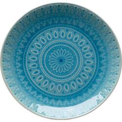 Plate Sicilia Blue Ø21cm