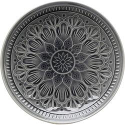 Plate Sicilia Mandala Grey Ø21cm