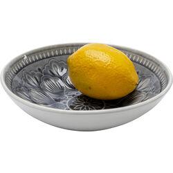 Bowl Sicilia Mandala Grey Ø18