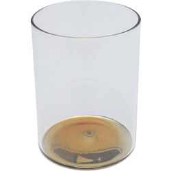 Water Glass Electra Gold