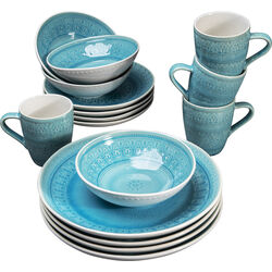 Dish Set Sicilia Blue (16-part)