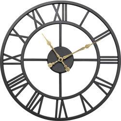 Wall Clock Roman Black Ø41cm