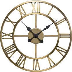 Wall Clock Roman Brass Ø41cm