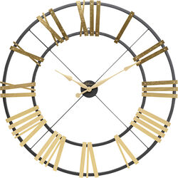 Wall Clock Nevio Brass Ø95cm
