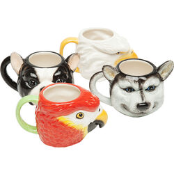 Mug Animals Face Assorted
