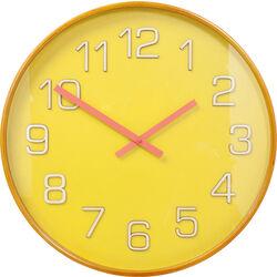 Wall Clock Nature Colore Yellow