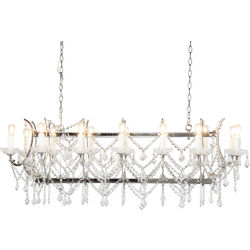 Pendant Lamp Chateau Crystal Chrome
