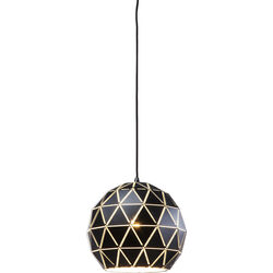 Pendant Lamp Triangle Black Ø30cm